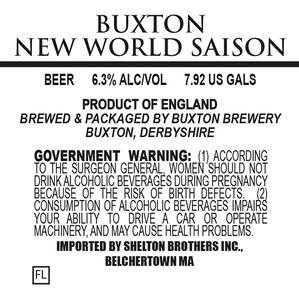 Buxton Brewery New World Saison
