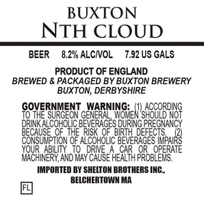 Buxton Brewery Nth Cloud