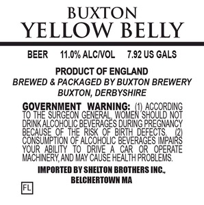 Buxton Brewery Yellow Belly