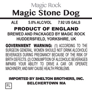 Magic Rock Magic Stone Dog