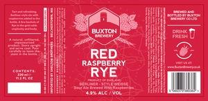 Buxton Brewery Red Raspberry Rye