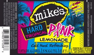 Mike's Hard Tropical Pink Lemonade