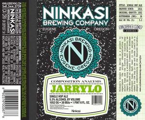 Ninkasi Brewing Company Jarrylo Single Hop Ale