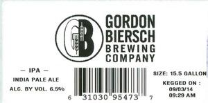 Gordon Biersch Brewing Company India Pale Ale