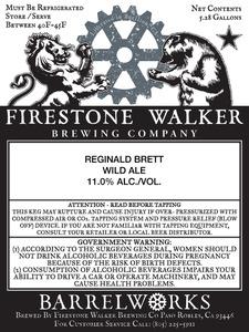Firestone Walker Brewing Company Reginald Brett