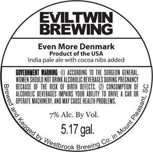 Evil Twin Brewing Even More Denmark