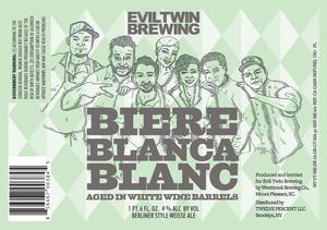 Evil Twin Brewing Biere Blanca Blanc