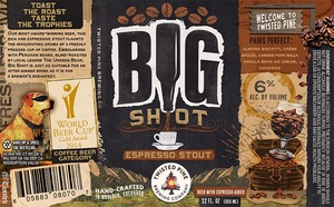 Twisted Pine Brewing Company Big Shot Espresso Stout
