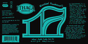 Ithaca Beer Company Excelsior Anniversary Seventeen