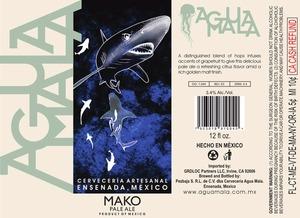 Agua Mala Mako Pale Ale October 2014