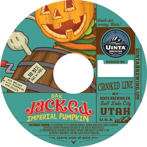 Uinta Brewing Company Oak Jacked