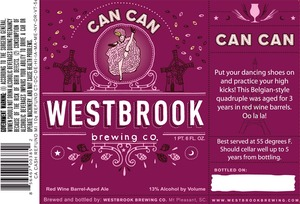 Westbrook Brewing Company Can Can