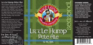 Highland Brewing Co. Little Hump
