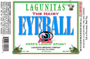 The Lagunitas Brewing Company The Hairy Eyeball Ale