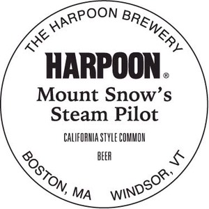 Harpoon Mount Snow's Steam Pilot