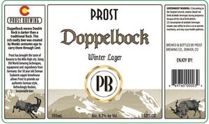 Doppelbock Winter Lager