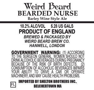 Weird Beard Bearded Nurse