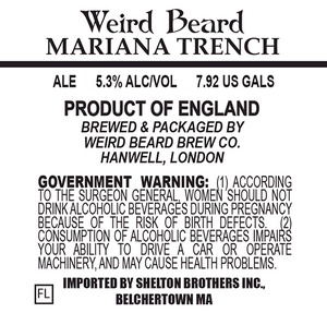 Weird Beard Mariana Trench