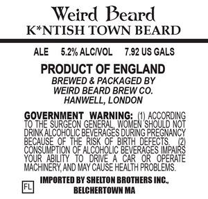 Weird Beard Kntish Town Beard