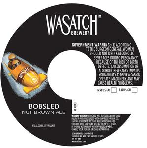 Wasatch Brewery Bobsled