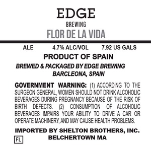 Edge Brewing Flor De La Vida