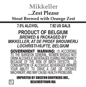Mikkeller Zest Please