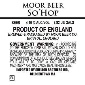 Moor Beer So'hop