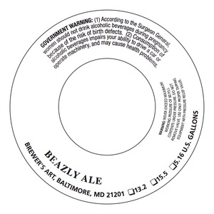 The Brewer's Art Beazly Ale