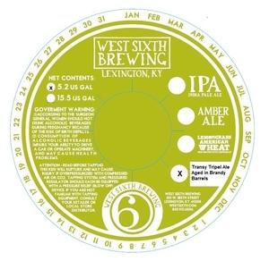 West Sixth Brewing Transy Tripel Ale Aged In Brandy Barrels
