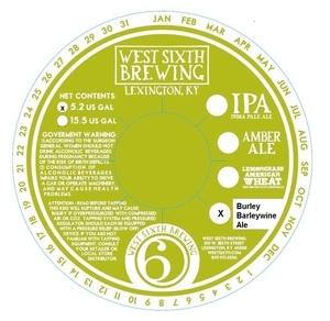 West Sixth Brewing Burley Barleywine Ale
