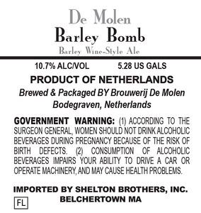 De Molen Barley Bomb