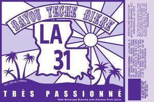 Bayou Teche Biere Tres Passionne