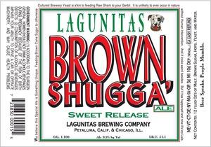 The Lagunitas Brewing Company Brown Shugga October 2014