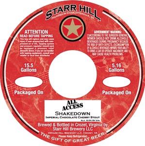 Starr Hill Shakedown