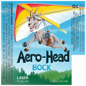 Appalachian Brewing Co Aero-head