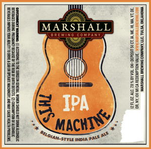 Marshall Brewing Company This Machine IPA