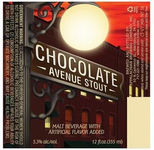 Appalachian Brewing Co Chocolate Avenue