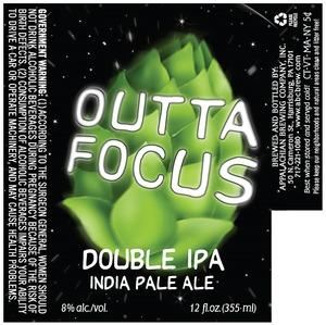 Appalachian Brewing Co Outta Focus
