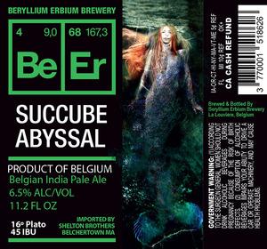 Beryllium Erbium Brewery Succube Abyssal