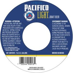Pacifico Light Draft