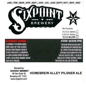 Homebrew Alley Pilsner
