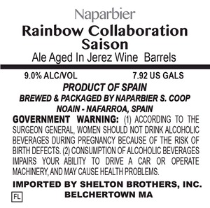 Naparbier Rainbow Collaboration