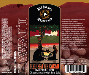 Big Island Brewhaus Red Sea Of Cacao
