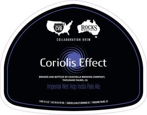 Coachella Valley Brewing Company Coriolis Effect