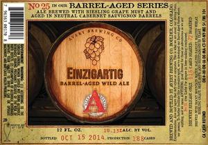 Avery Brewing Company Einziggartig Barrel-aged Wild Ale
