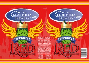 Blue Hills Brewery Imperial Red India Pale Ale
