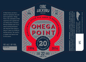 Olde Hickory Brewery Point Omega