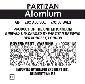 Partizan Brewing Atomium