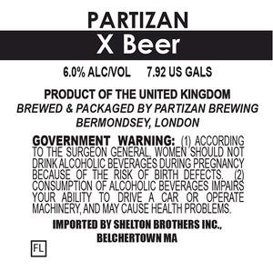 Partizan Brewing X