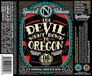 Ninkasi Brewing Company Devil Went Down To Oregon